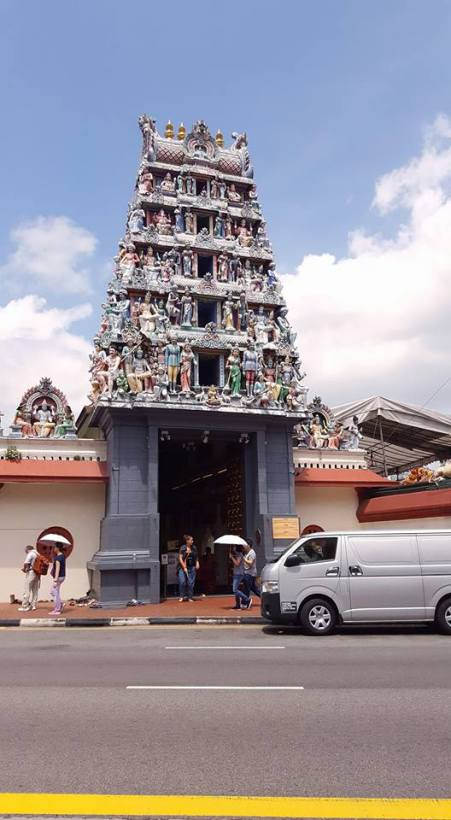 One of the many fantastic Hindu temples