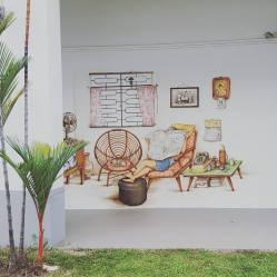 Street art in Tiong Bahru