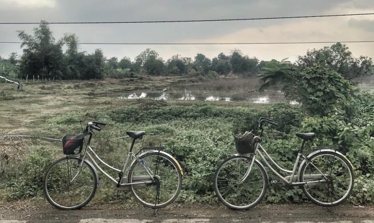 Our Cambodian bicycles